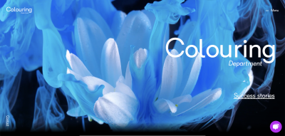 Colouring Department website