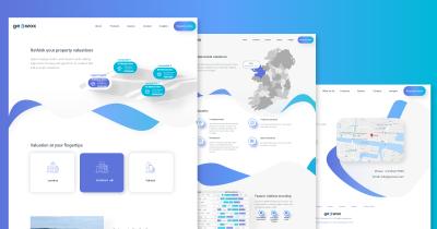 Geowox website design