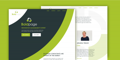 Boldpage webside design